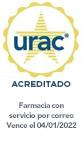 Sello de URAC: farmacia de servicio por correo acreditada por URAC - Vence el 4/1/2022