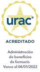Sello de URAC: administración de beneficio de farmacia acreditada por URAC - Vence el 4/1/2022