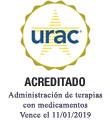 Sello de la URAC: control de terapias con medicamentos acreditadas por la URAC