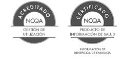Administración de uso acreditada por NCQA y producto de información sobre la salud certificado por NCQA