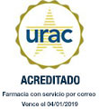 Sello URAC: farmacia de servicio por correo acreditada por URAC